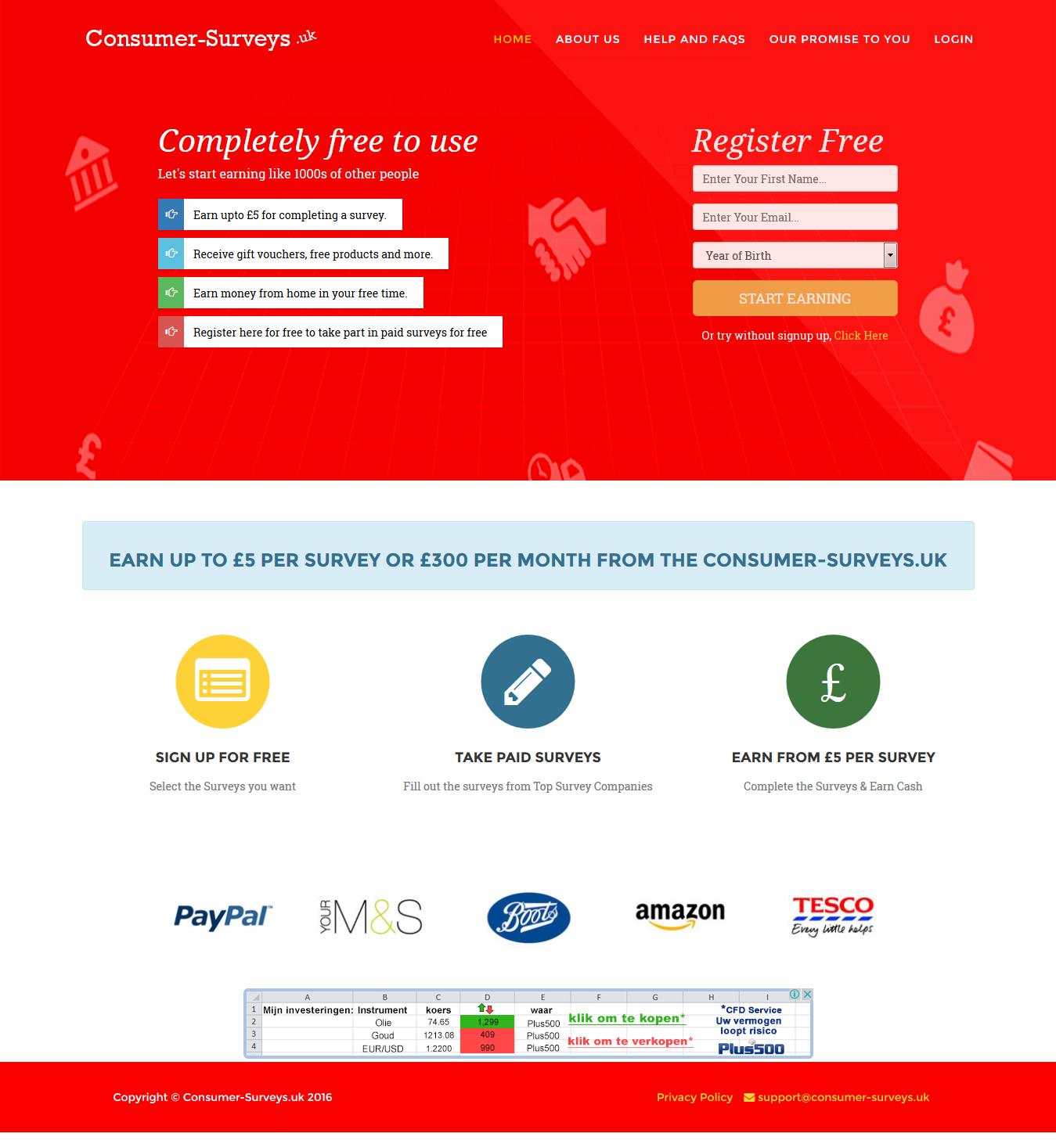 Paid Surveys UK - Online Part-time Surveys